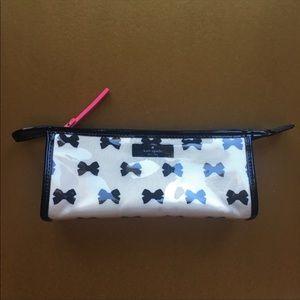 Kate Spade New York Bow Printed Cosmetic Bag